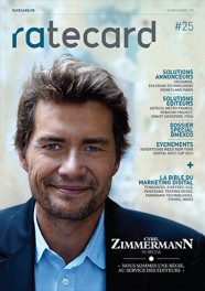 ratecard magazine 25 couverture