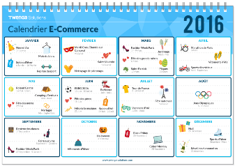 calendrier webmarketing et ecommerce Twenga