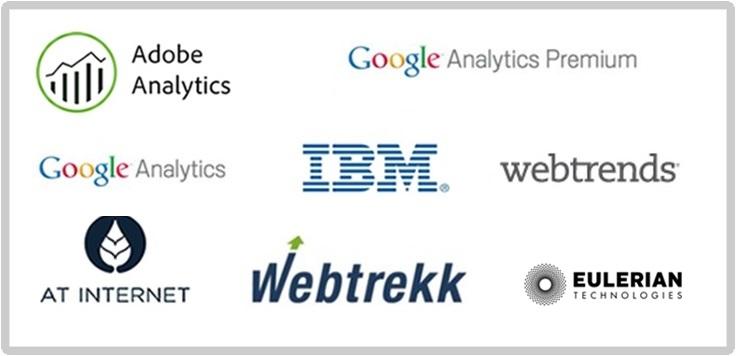 8 solutions majeures du digital analytics