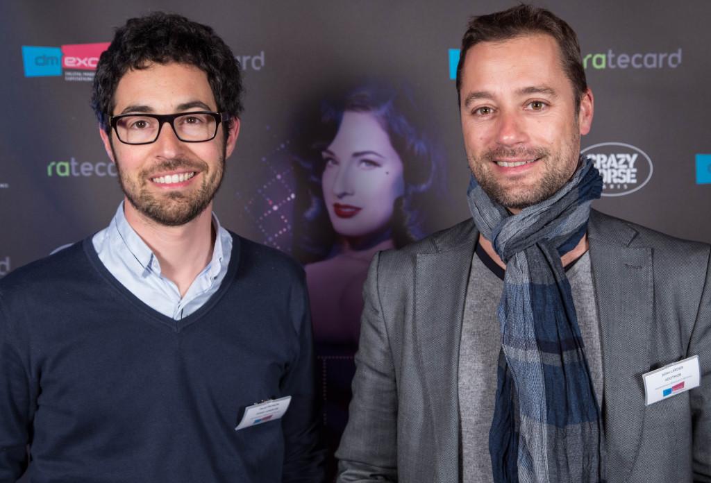 David Pironon de Smart Adserver et Julien Lardier de Adotmob