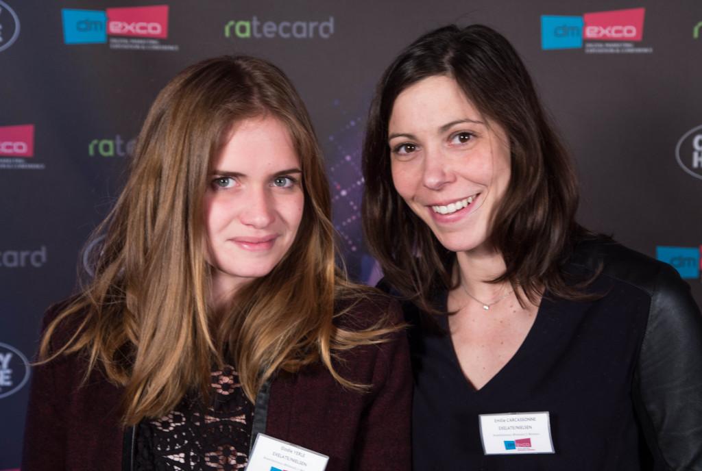 Elodie Yerle et Emilie Carcassonne de Exelate