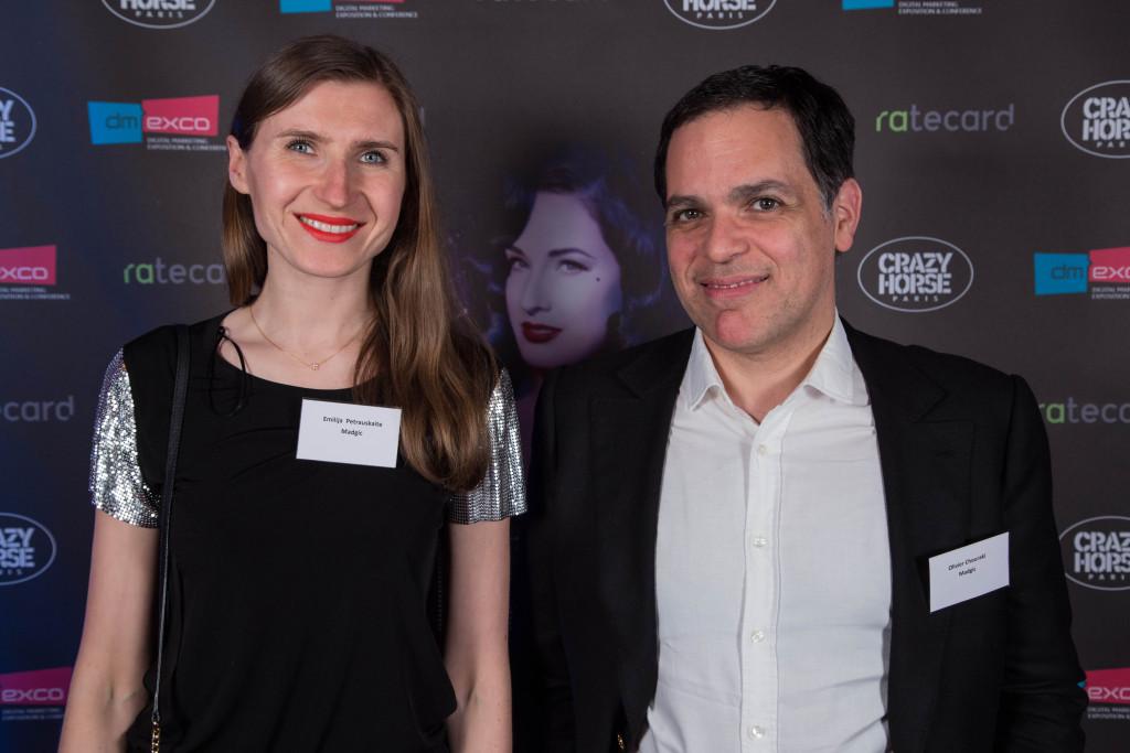 Emilia Petrauskaite et Olivier Chouraki de Madgic