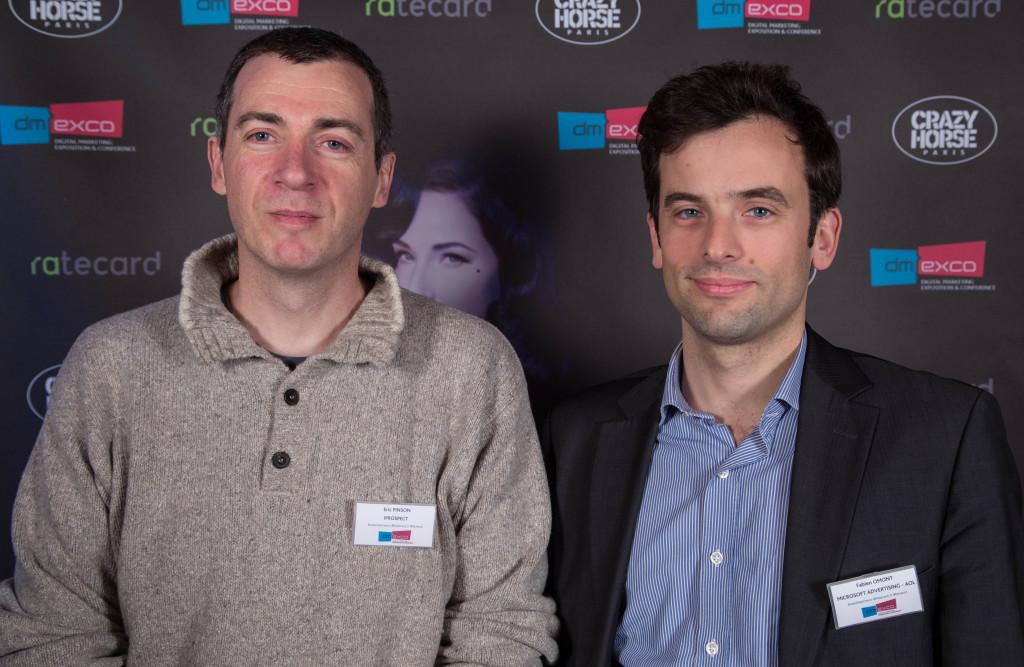 Eric Pinson de iProspect et Fabien Omont de AOL Platforms