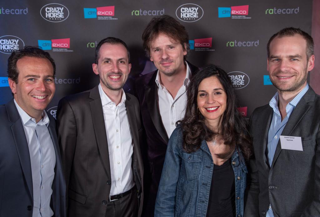 Gaëtan Touyon de Cofidis, Franck Lewkowicz, Emmanuelle Asseraf et Antoine Cormier de Quantcast
