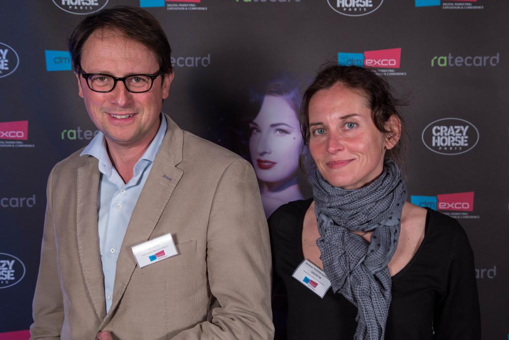 Philippe Framezelle de Adverline et Hortense Thomine-Desmazures de M6