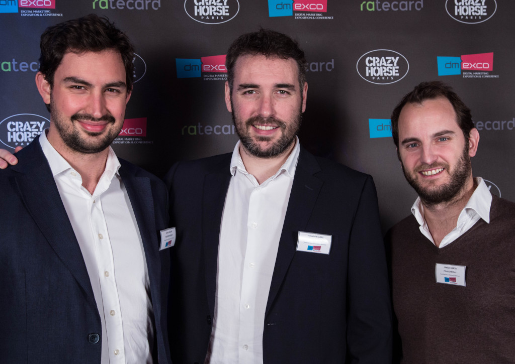 Xavier Lançon de Rubicon, Sylvain Travers de Webedia et Manuel Garcia de Figaro Médias