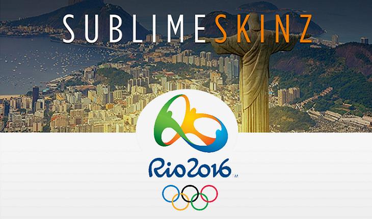 Sublime Skinz et les Jeux Olympiques 2016