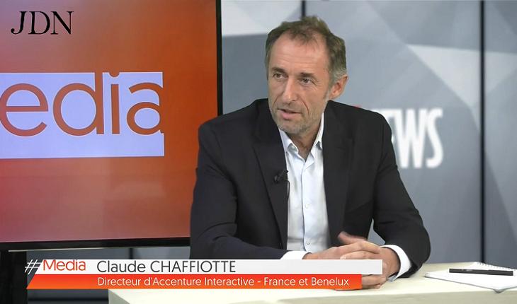 Claude Chaffiote, Directeur d'Accenture Interactive