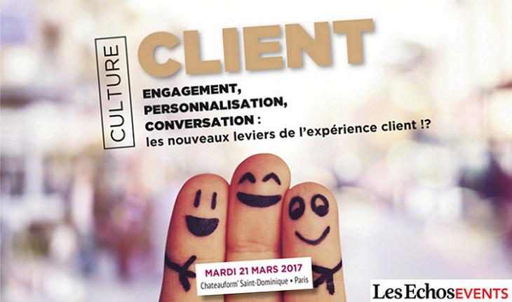 Conference culture client Les EchosEvents