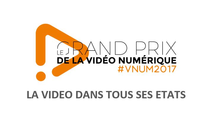 Grand Prix de la Vidéo Numérique 2017