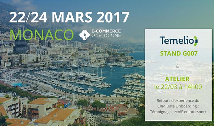 Temelio au E-commerce One to One Monaco 2017