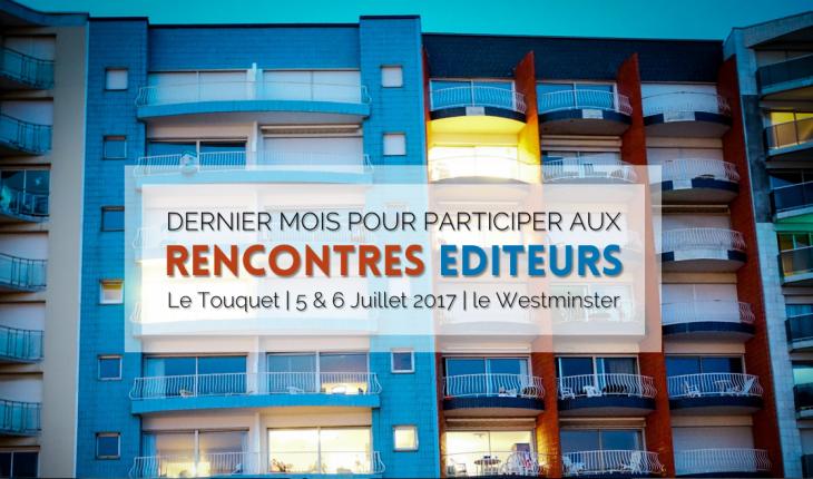 Rencontres Editeurs 2017