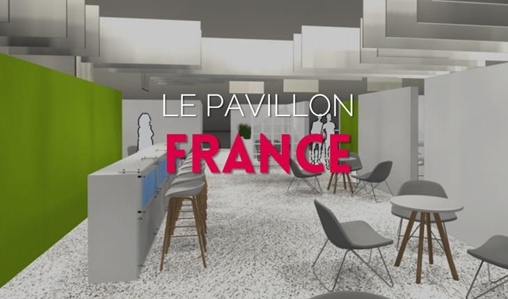 Pavillon France de Dmexco 2017