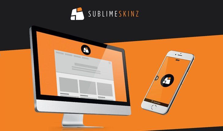 Sublime Skinz nouveaux formats