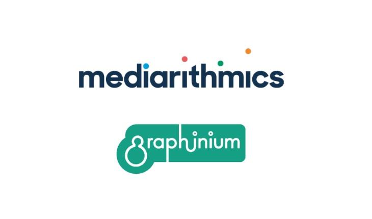 partenariat de mediarithmics et graphinium