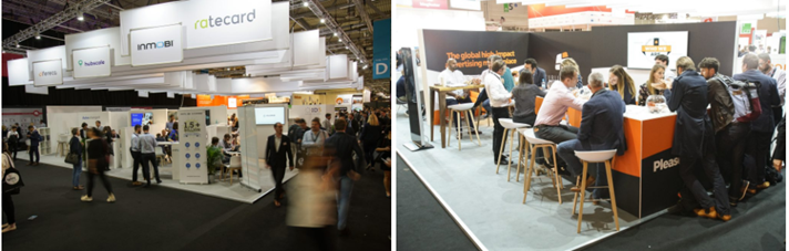 Dmexco stands