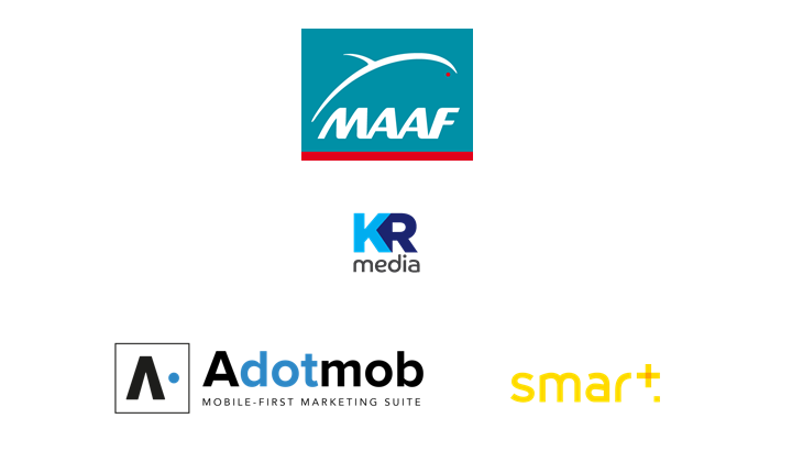 Adotmob, Smart, KR Media, MAAF