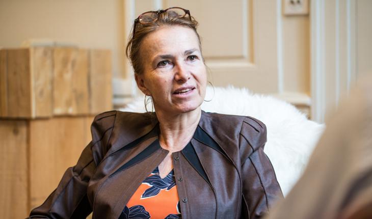 Marie-Laure Sauty De Chalon, Aufeminin