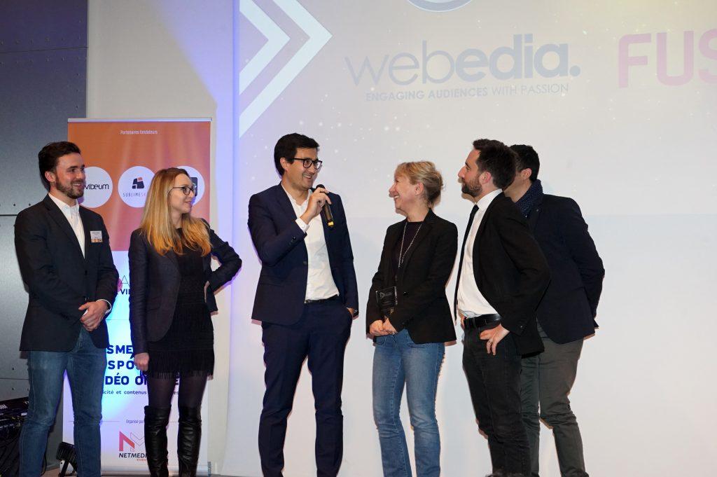 Grand Prix Vnum 2018, Webedia