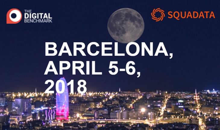 Squadata au Digital Benchmark Barcelone 2018
