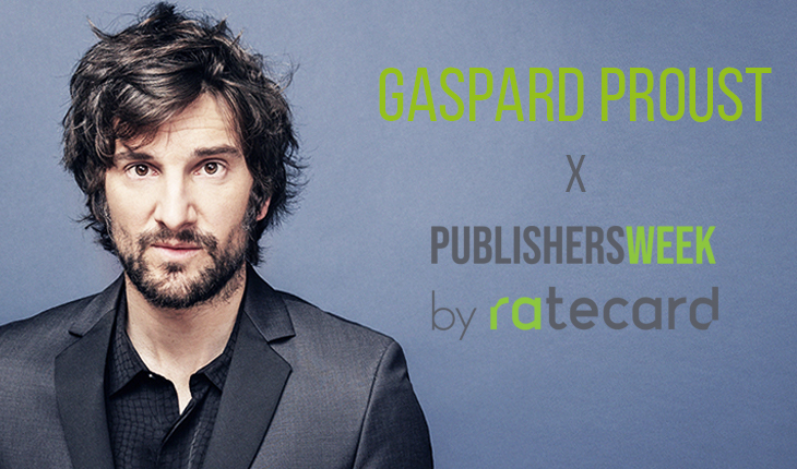 Gaspard Proust à la Publishers Week 2018