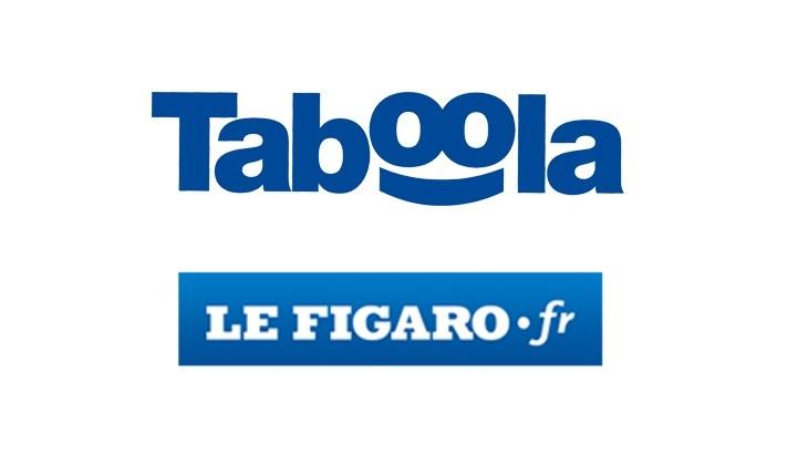 Taboola et Le Figaro