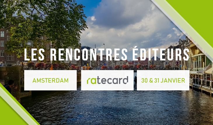 Rencontres Editeurs Amsterdam 2019