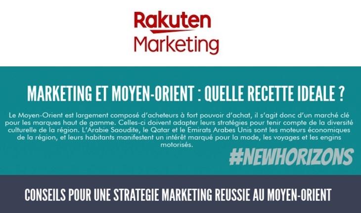 infographie Rakuten Marketing