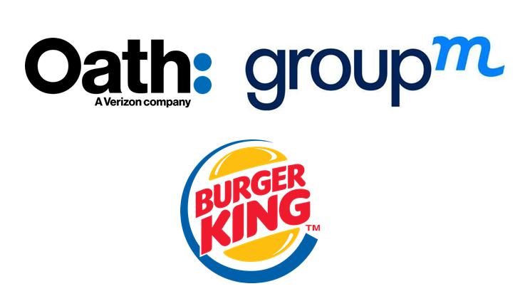 Oath Groupm et Burger King