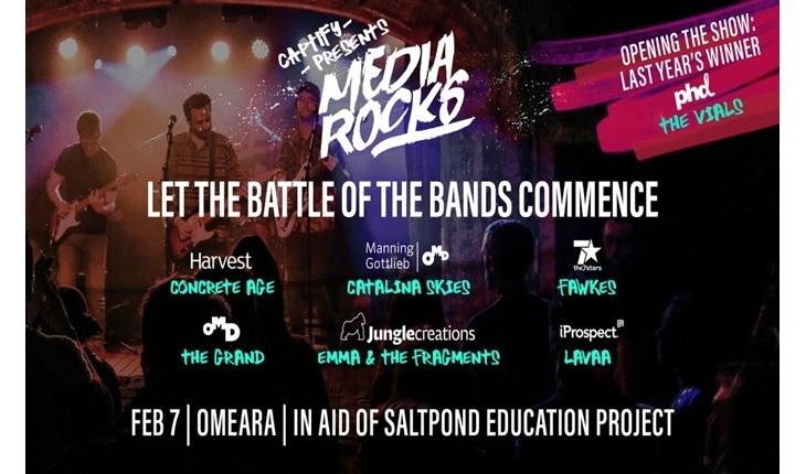 Concours Media Rock 2019 par Captify
