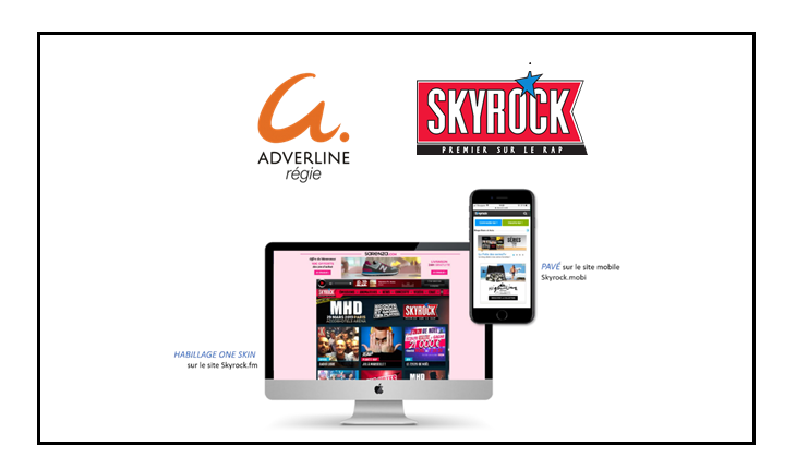 Skyrock et Adverline Régie