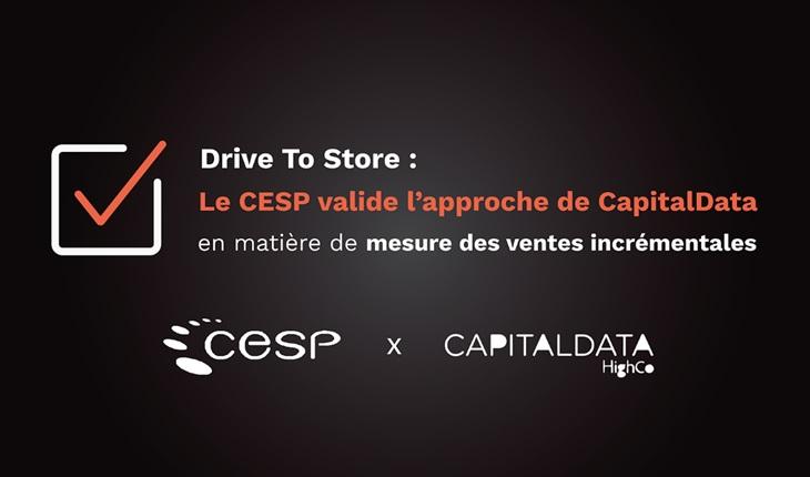 Validation de l'approche de CapitalData par le CESP