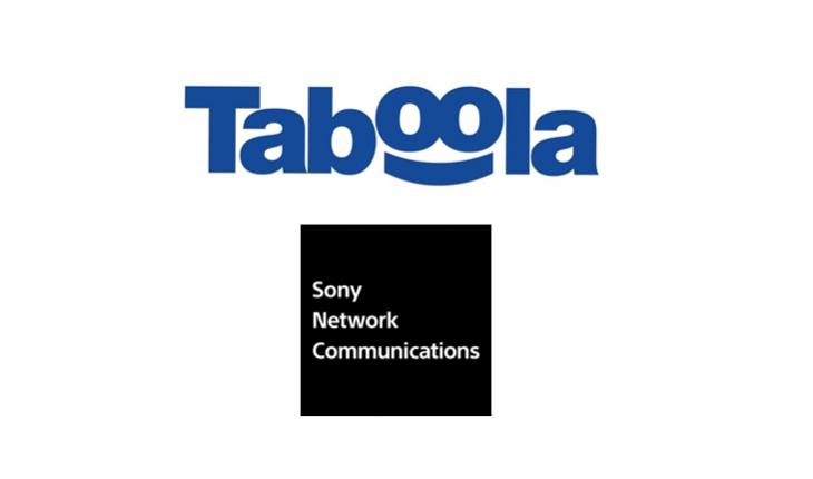 Taboola Sony