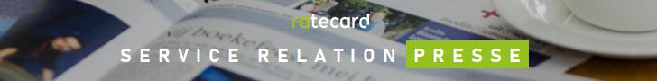 Relations Presse Ratecard