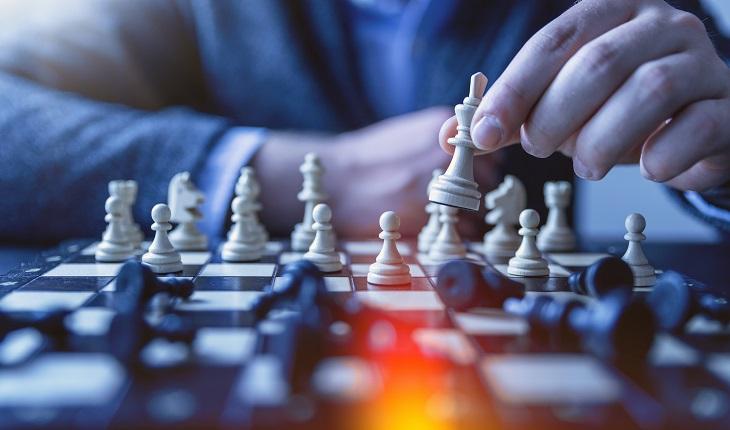 échecs, strategie, partie