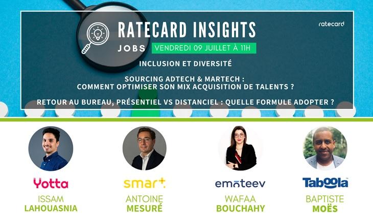 Ratecard Insight Jobs